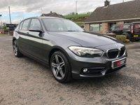 2016 BMW 1 SERIES 116D SPORT DIESEL 114 BHP £12495.00