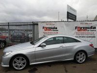 USED 2009 J MERCEDES-BENZ E-CLASS 3.0 E350 CDI Sport Auto 2dr 2 OWNERS+1 YEARS MOT+VALUE CAR
