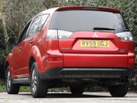 USED 2009 59 MITSUBISHI OUTLANDER 2.0 4WORK LWB CDV 1d 139 BHP 50 MPG DRIVES SUPERB A/C VGC