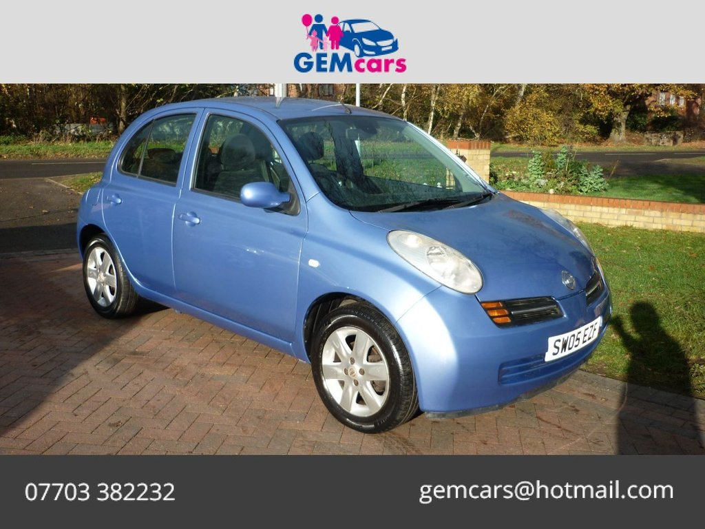 USED 2005 05 NISSAN MICRA 1.4 SVE 5d 88 BHP GO TO OUR WEBSITE TO WATCH A FULL WALKROUND VIDEO