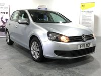 USED 2011 11 VOLKSWAGEN GOLF 2.0 MATCH TDI DSG 5d AUTO 138 BHP AUTOMATIC MUCH DESIRABLE VW GOLF DSG