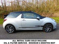 USED 2015 15 CITROEN DS3 1.6 BLUEHDI DSPORT PLUS 3d 120 BHP All retail cars sold are fully prepared and include - Oil & filter service, 6 months warranty, minimum 6 months Mot, 12 months AA breakdown cover, HPI vehicle check assuring you that your new vehicle will have no registered accident claims reported, or any outstanding finance, Government VOSA Mot mileage check. Because we are an AA approved dealer, all our vehicles come with free AA breakdown cover and a free AA history check.. Low rate finance available. Up to 3 years warranty available.