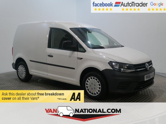 USED 2016 66 VOLKSWAGEN CADDY 1.6 C20 TDI STARTLINE 102 BHP * WE DON'T CHARGE ADMIN FEE'S *