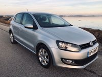 USED 2014 14 VOLKSWAGEN POLO 1.4 Match Edition 5dr FSH.NEW CAMBELT.