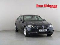 USED 2016 66 BMW 5 SERIES 2.0 520D SE 4d 188 BHP