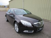2011 VAUXHALL INSIGNIA 1.8 EXCLUSIV 5d 138 BHP £SOLD