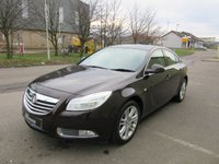 USED 2011 11 VAUXHALL INSIGNIA 1.8 EXCLUSIV 5d 138 BHP ONE OWNER WITH A FULL VAUXHALL SERVICE HISTORY IN VERY GOOD CONDITION