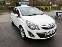 USED 2013 63 VAUXHALL CORSA 1.2 ENERGY AC 3d 83 BHP Buy with confidence from a garage that has been established  for 26 years.