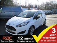 USED 2015 15 FORD FIESTA 1.5 BASE TDCI 3d 74 BHP 15 plate car derived van. Tidy, ready to work.