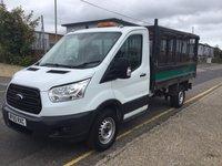 2015 FORD TRANSIT TIPPER 350 L2 RWD 125ps (Cage) £10995.00