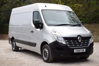 USED 2016 16 RENAULT MASTER 2.3 MM35 BUSINESS DCI S/R P/V 125 BHP