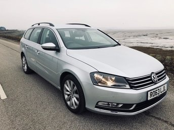 2013 VOLKSWAGEN PASSAT 2.0 TDI BlueMotion Tech Highline Estate 5dr Diesel Manual (120 g/km, 138 bhp) £7995.00