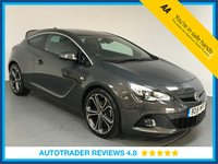 USED 2016 16 VAUXHALL ASTRA 1.6 GTC LIMITED EDITION CDTI S/S 3d 134 BHP EURO 6 - SAT NAV - REAR SENSORS - AIR CON  - FULL DEALER HISTORY - ONE OWNER - BLUETOOTH