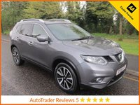 USED 2016 16 NISSAN X-TRAIL Nissan X-Trail 1.6 dCi n-tec Xtronic CVT 5dr (7 Seats) ULEZ Compliant Fantastic Seven Seat Automatic Nissan X-Trail with Satellite Navigation,  Glass Panoramic Roof, Climate Control, Cruise Control, Alloy Wheels and Nissan Service History.
