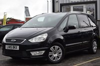 USED 2015 15 FORD GALAXY 2.0 ZETEC TDCI 5d AUTO 138 BHP Full Service History With 11 Stamps