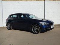 2012 BMW 1 SERIES 2.0 118D SPORT 5d 141 BHP £8588.00