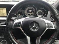 USED 2013 63 MERCEDES-BENZ C CLASS 2.1 C220 CDI BLUEEFFICIENCY AMG SPORT PLUS ESTATE AUTO NAV, HUGE SPEC, SAT NAV, REVERSE CAMERA, RED SEAT BELTS,
