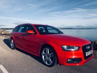 USED 2015 15 AUDI A4 2.0 TDI S line 5dr 1 OWNER.FSH.177 PS.