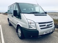 USED 2012 62 FORD TRANSIT 2.2 TDCi 280 S Tourneo Trend Low Roof Bus 5dr (9 Seats, SWB) 1 OWNER.FSH.9 SEATER.
