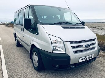 2012 FORD TRANSIT 2.2 TDCi 280 S Tourneo Trend Low Roof Bus 5dr (9 Seats, SWB) £10995.00