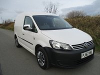 USED 2012 62 VOLKSWAGEN CADDY 1.6 TDI C20 Panel Van 5dr SOLID VAN.CHROME PACK.