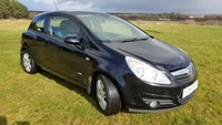 USED 2009 59 VAUXHALL CORSA 1.2 DESIGN INTOUCH 3d 80 BHP Only 48,000 Miles!