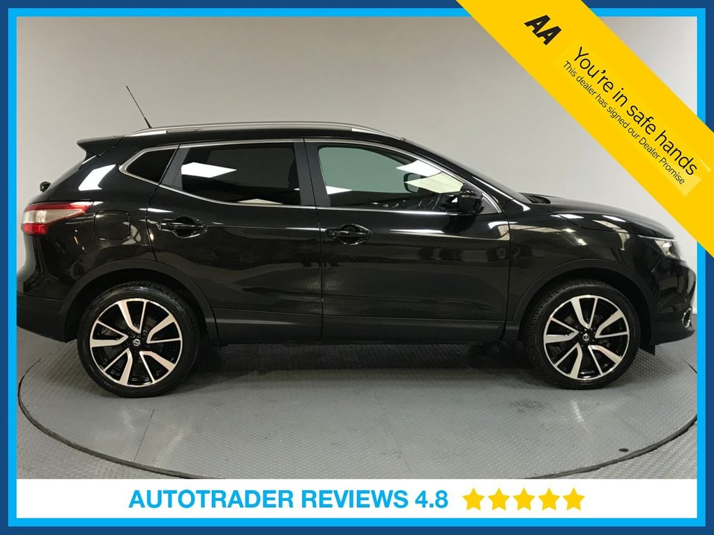 USED 2017 17 NISSAN QASHQAI 1.5 DCI TEKNA 5d 108 BHP ONE OWNER - FULL SERVICE HISTORY - PARKING CAMERA - SAT NAV - CRUISE - AIR CON - BLUETOOTH