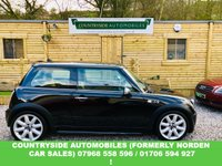 USED 2004 54 MINI HATCH COOPER 1.6 COOPER S 3d 168 BHP This car was my mothers car from brand new and has been in the family ever since, only 60k from new with full service history, finished in gloss black with chrome mirror caps, le mans chrome petrol flap, original genuine Mini over mats, two tone beige and tan upgraded leather, special edition John cooper works front bumper, cd multiplay, this car was over 22k when new with around £6000 worth of extras. was owned by my mother from new and then by brother in law following that. STUNNING !