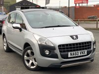 2010 PEUGEOT 3008 1.6 EXCLUSIVE HDI 5d AUTO 112 BHP £4995.00