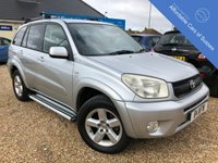 USED 2005 05 TOYOTA RAV4 2.0 XT-R VVT-I 5d 147 BHP Low Mileage with Full Black Leather Interior