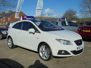2010 SEAT IBIZA 1.6 SPORT CR TDI 3d 103 BHP * PAN ROOF* PARKING AID* * £30 TAX* EXCELLENT* £SOLD