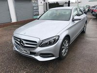 USED 2015 64 MERCEDES-BENZ C-CLASS 2.1 C250 BLUETEC SPORT 4d AUTO 204 BHP FULL HISTORY-LEATHER-AUTOMATIC-REVERSE CAMERA-NAV-BLUETOOTH-DAB