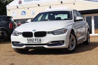 2012 BMW 3 SERIES 2.0 316D SPORT 4d 114 BHP £8495.00