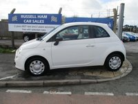 USED 2009 58 FIAT 500 1.2 POP 3d 69 BHP 4 Stamps of Service History.£30 Yearly road Tax .New MOT & Full Service Done on purchase + 2 Years FREE Mot & Service Included After . 3 Months Russell Ham Quality Warranty . All Car's Are HPI Clear . Finance Arranged - Credit Card's Accepted . for more cars www.russellham.co.uk  Spare Key & Owners Book Pack.