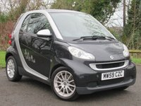 USED 2010 SMART FORTWO 1.0 PASSION MHD 2d AUTOMATIC **SMALL ECONOMICAL**FUN TO DRIVE**