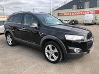 USED 2012 62 CHEVROLET CAPTIVA 2.2 LTZ VCDI 5d AUTO 184 BHP GOT A POOR CREDIT HISTORY * DON'T WORRY * WE CAN HELP * APPLY NOW *