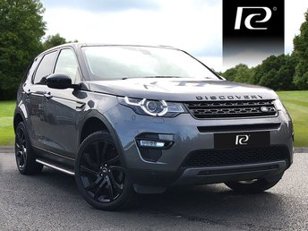 2017 LAND ROVER DISCOVERY SPORT 2.0 TD4 HSE BLACK 5d AUTO 180 BHP £31990.00