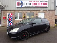 2003 HONDA CIVIC 2.0 TYPE-R 3d 200 BHP £4950.00