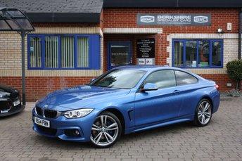 2014 BMW 4 SERIES 2.0 420D XDRIVE M SPORT 2d 181 BHP £15000.00