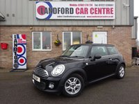 2011 MINI HATCH ONE 1.6 ONE D 3d 90 BHP £5450.00