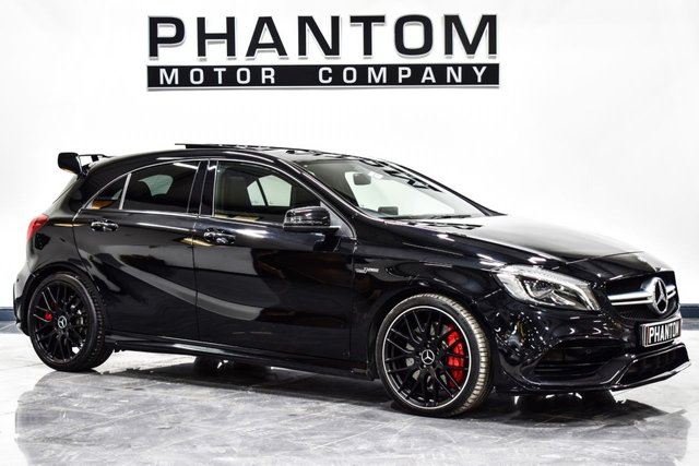 USED 2017 17 MERCEDES-BENZ A CLASS 2.0 A45 AMG 4MATIC 5d AUTO 360 BHP