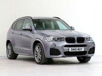 2015 BMW X3 2.0 XDRIVE20D M SPORT 5d AUTO 188 BHP £19794.00