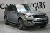 USED 2013 63 LAND ROVER RANGE ROVER SPORT 3.0 SDV6 HSE DYNAMIC 5d AUTO 288 BHP 7 Seats, 21 Inch Corris Grey Alloy Wheels + Red Brake Calipers, HDD Satellite Navigation + Bluetooth Connectivity + DAB Radio + Factory Rear Entertainment + Digital TV + Dual View + Meridian Premium Surround Sound, Lane Change Assist, Heated Leather Multi Function Steering Wheel, ACC - Adaptive Cruise Control, Premium Ambient Lighting, Front and Rear Park Distance Control + 360 Cameras, Remote Power Tailgate, Automatic Xenon Headlight with LED Signature, Heated Rear Seats, Heated El