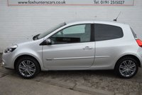 USED 2011 11 RENAULT CLIO 1.2 DYNAMIQUE TOMTOM 16V 3d 75 BHP