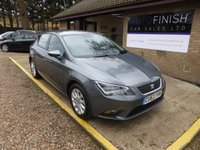 USED 2013 63 SEAT LEON 1.6 TDI SE TECHNOLOGY 5d 105 BHP * FULL SERVICE HISTORY * ZERO ROAD TAX * SAT-NAV * DAB RADIO * 2 KEYS *