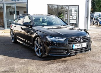 2015 AUDI A6 2.0 AVANT TDI ULTRA S LINE BLACK EDITION 5d 188 BHP £SOLD
