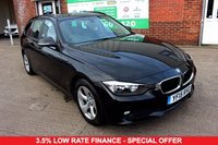 USED 2015 15 BMW 3 SERIES 2.0 320D EFFICIENTDYNAMICS TOURING 5d 161 BHP +ONE OWNER +SAT NAV +FSH.