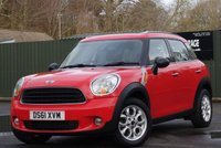 2012 MINI COUNTRYMAN 1.6 ONE 5d  £7295.00