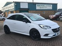 2016 VAUXHALL CORSA 1.4 LIMITED EDITION Alpine White 1982 miles from new 3 Door 89 BHP £8995.00