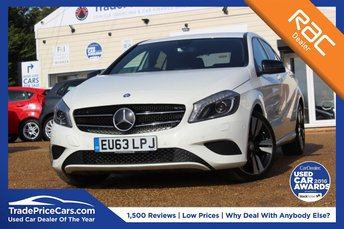 2013 MERCEDES-BENZ A CLASS 1.6 A180 BLUEEFFICIENCY SPORT 5d AUTO 122 BHP